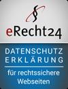 eRecht24 Siegel Datenschutzerklaerung
